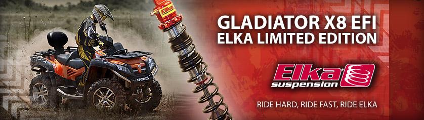 Gladiator X8 ELKA EDITION