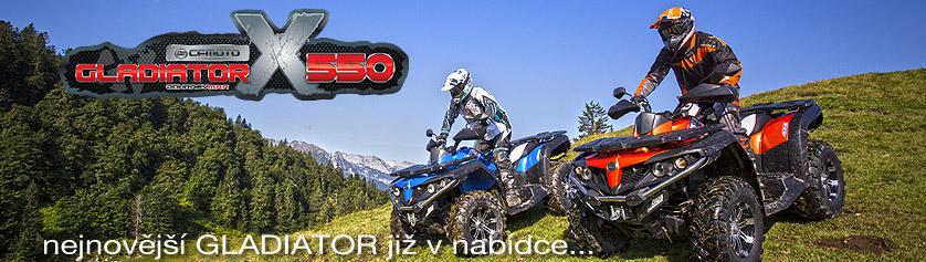 Gladiator X550 EFI