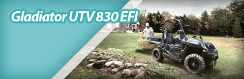 Gladiator UTV 830 EFI
