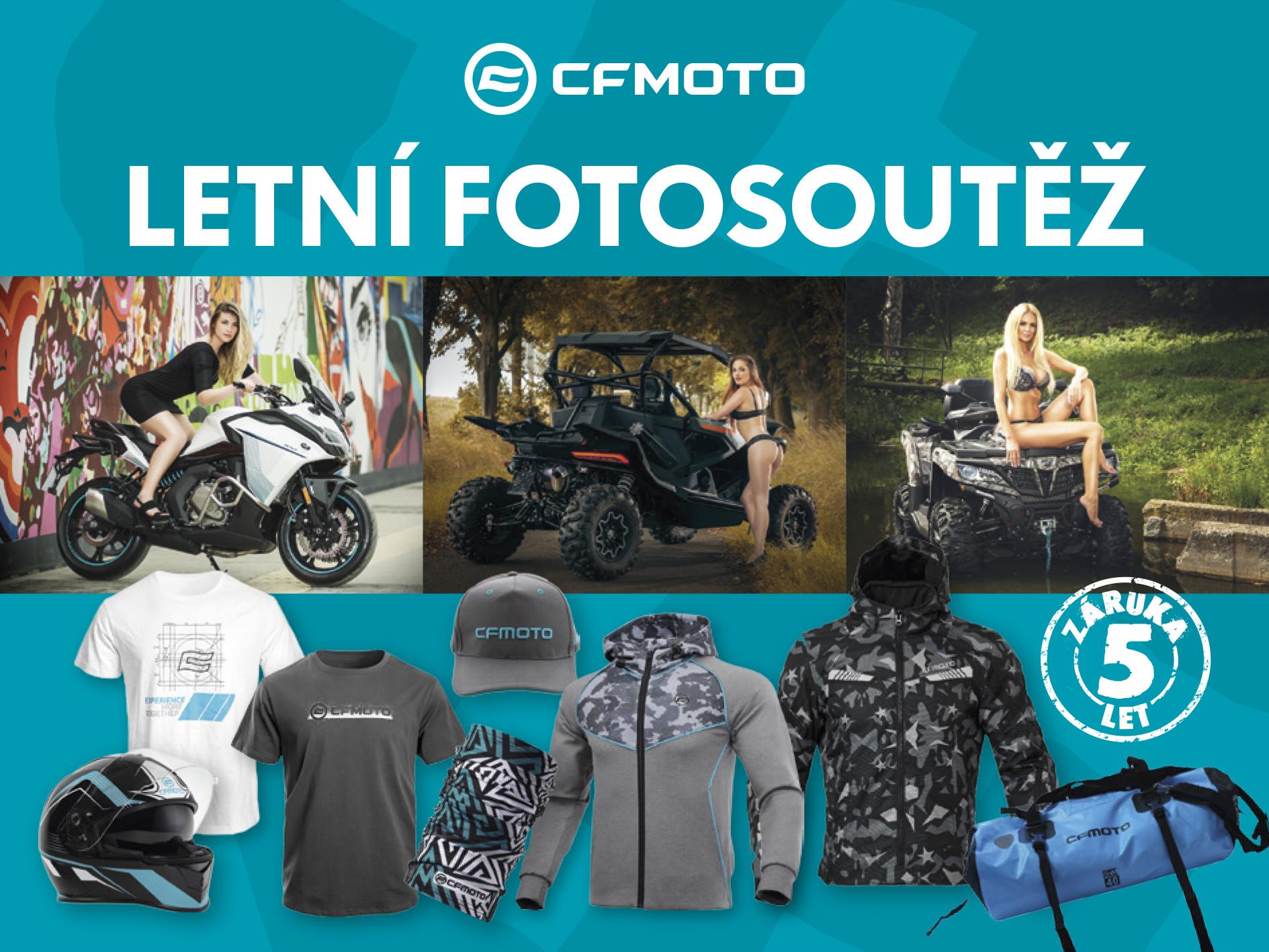 Letní CFMOTO fotosoutěž